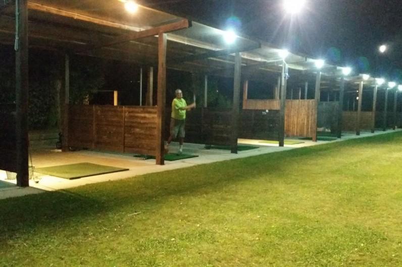 Golf con illuminazione notturna in versilia